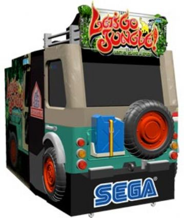 LETS GO JUNGLE SEGA, США, Англия