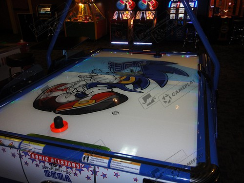 SEGA SONIC AIR HOCKEY 2P