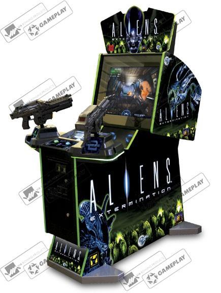 ALIENS EXTERMINATION DELUXE GLOBAL VR, США