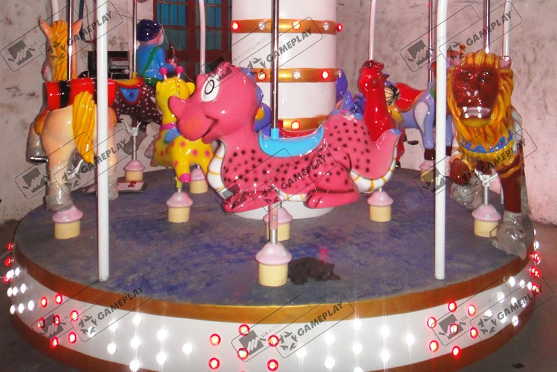 9 Seats Animal Carousel