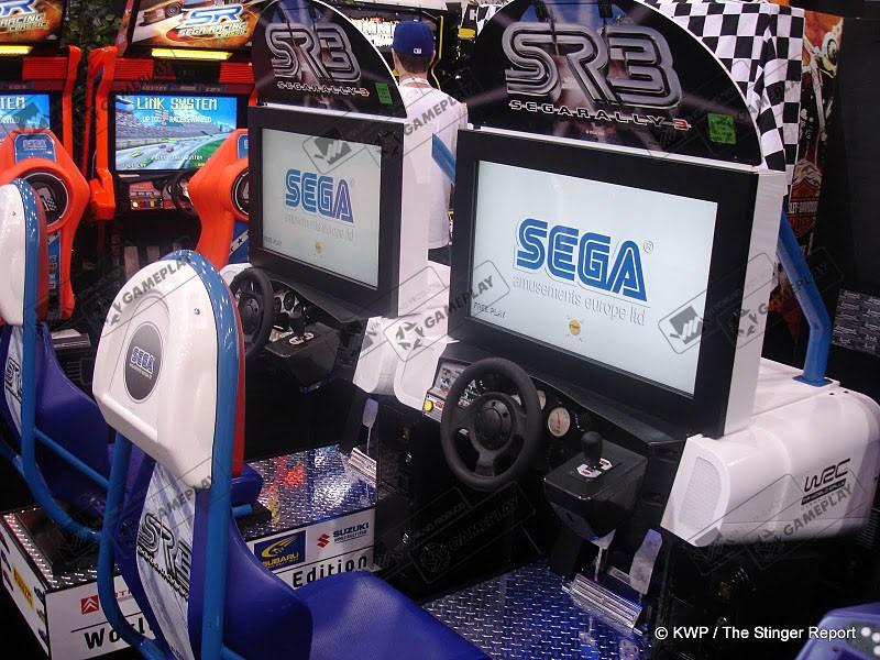 SEGA RACING CLASSIC TWIN SEGA, США, Англия