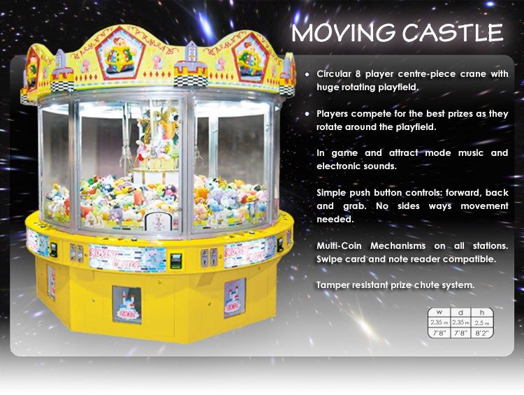 FEILOLI MOVING CASTLE 4 player