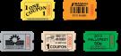 Билетики для аппаратов Redemption