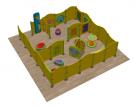 Детские развивающие игровые локации