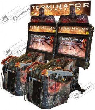 Terminator Salvation SDX RAW THRILLS, США